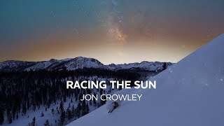 Racing the Sun: Backcountry Skier Chases Perfect Powder by Starlight