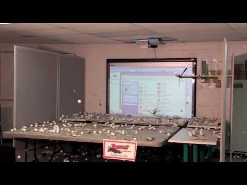Watch How Nuclear Chain Reactions Work, Using Ping Pong Balls