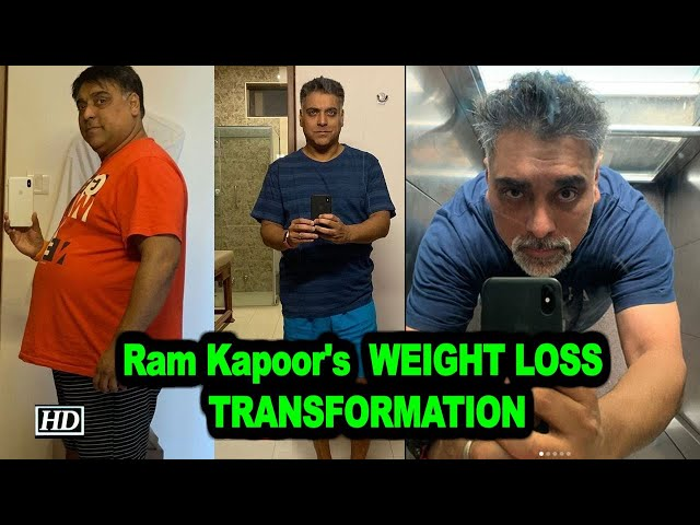 Ram Kapoor's extreme WEIGHT LOSS TRANSFORMATION