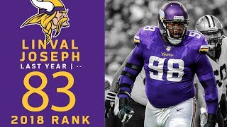 #83: Linval Joseph (DT, Vikings) | Top 100 Players of 2018 | NFL