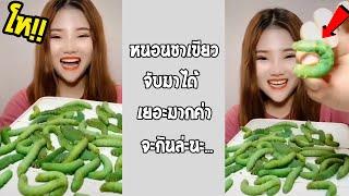 เธอจะกินทั้งหมดนี่จริงหรือนั่น เราแค่เห็นก็คันแล้ว... #รวมคลิปฮาพากย์ไทย