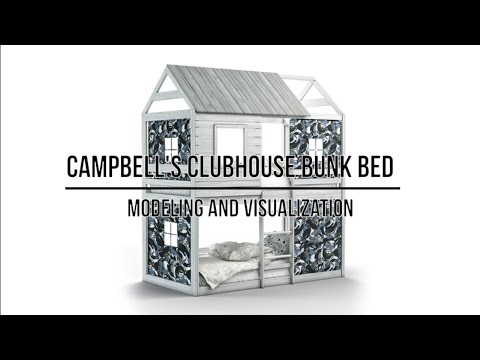 Campbell's Clubhouse Bunk Bed