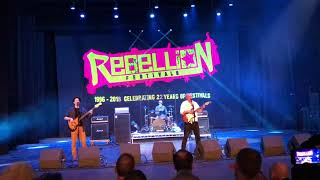 Zounds @ Rebellion Festival, Blackpool (4.8.2018) - Demystification