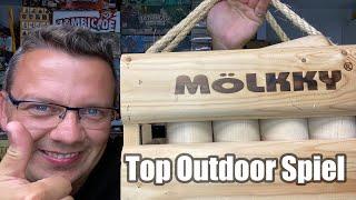 Top Spiele von Jörg Teil 8: Mölkky (Amigo) - Top Outdoor Spiel für Jung und Alt