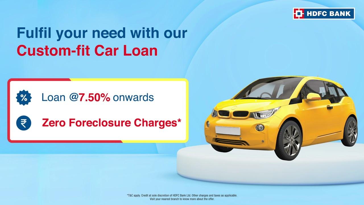 HDFC Bank Custom-Fit Auto Loan thumbnail