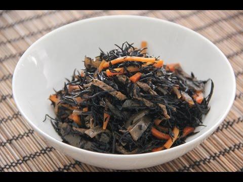 Hijiki no Nimono Recipe – Japanese Cooking 101
