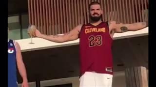 Drake caught wearing Lebron James jersey