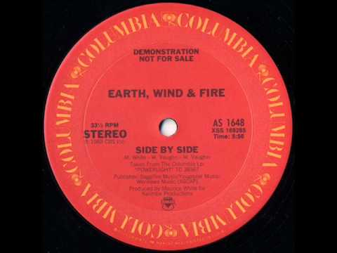 Earth, Wind & Fire -- Side By Side 12""