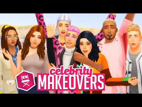THE CALIENTES | Sims 4 Townie Makeover - игровое видео