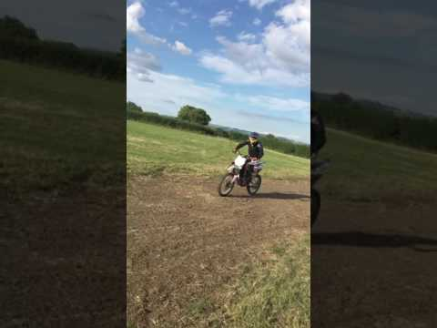 Husqvarna tc 510 first ride