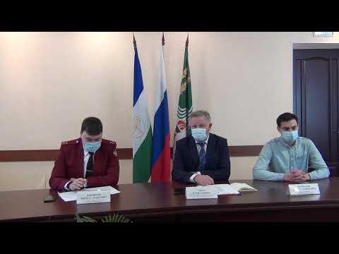Брифинг по вопросам эпидемиологической ситуации в муниципальном районе Краснокамский район