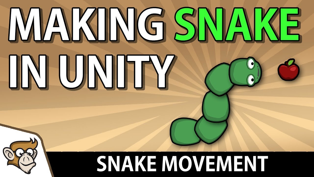 Making Snake in Unity: Snake Movement (Unity Tutorial for Beginners)
