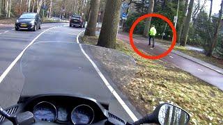 Mотоциклист рванул с места.И стал героем Интернета