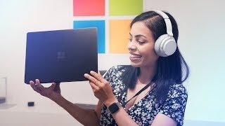 Matte Black Surface Pro 6 & Surface Laptop 2 Reaction!