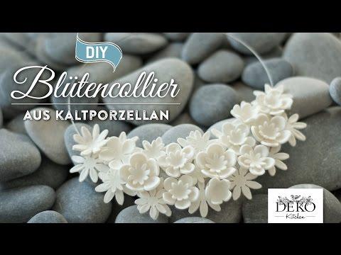 How to: edle Statementkette aus Kaltporzellan selber machen DIY | Deko Kitchen