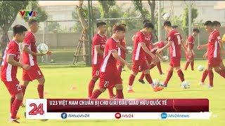 Tổng hợp thể thao ngày 2/8: ĐT U23 Việt Nam chuẩn bị cho giải đấu U23 Quốc Tế   VTV24