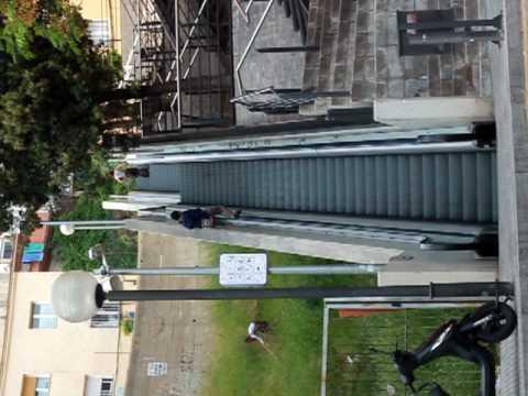 Roquetas escaleras de subida y bajada