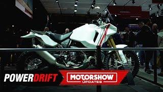 Ducati Desert X Concept : Cagiva Elefant inspired scrambler : EICMA 2019 : PowerDrift