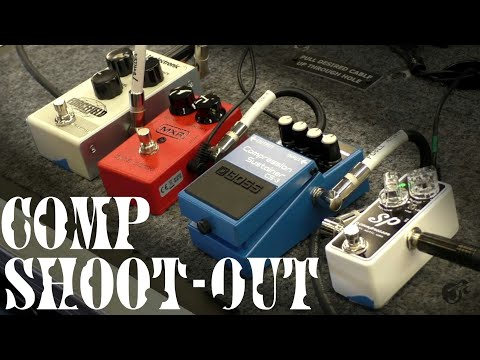 Compressor Pedal Shoot-out @ The Guitar Center, Chattanooga – JT Guitar