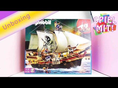 Playmobil Piratenschiff - Das neue Playmobil Piraten-Beuteschiff Unboxing