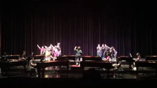 Grease Medley for Two Pianos and Voice Ensemble (Rehearsal)