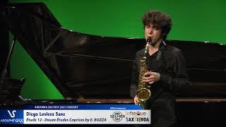 Diego Levices Sanz plays Étude 12 – Douze Études Caprices by Eugène BOZZA