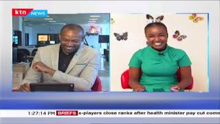 Working from Home: KTN journalist, Grace Kuria\'s experience on delivering bulletin from home