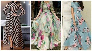 Latest Maxi Dress Designs For Women/Casual Summer Dresses