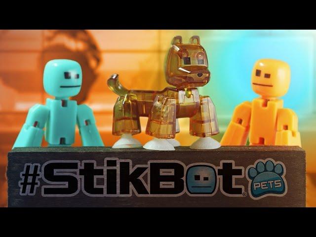 Фігурка Для Анімаційної Творчості Stikbot S2 Pets