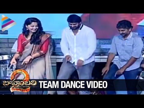 Baahubali 2 Team Unseen Dance Video | Prabhas | Anushka | SS Rajamouli | #Baahubali2 | Rana