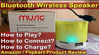 Bluetooth Speaker - How to Connect with Mobile? How is Hoatzin S10 Mini Bluetooth Wireless Speaker