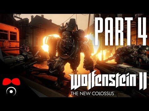 AMERICKÝ ODBOJ! | Wolfenstein 2: The New Colossus #4
