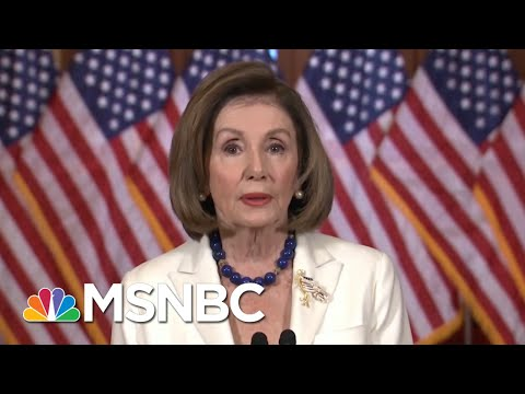 Pelosi Announces Articles Of Impeachment, Trump Attacks & Calls Her Unhinged - Day That Was | MSNBC