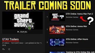 GTA Online Next DLC Trailer Coming Soon? - Secret Video Uploaded by Rockstar