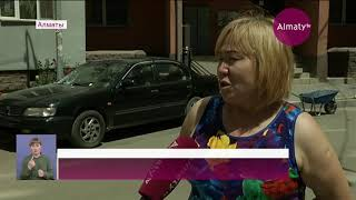 Облицовка домов в микрорайоне Нуркент угрожает жизни людей (18.06.19)