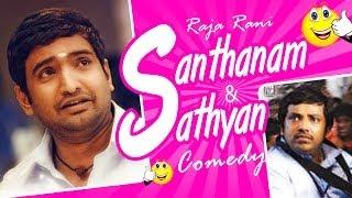 Raja Rani Tamil Movie   Back To Back Comedy Scenes   Arya   Nayanthara   Santhanam   Jai   Nazriya