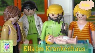 Playmobil Film Deutsch ELLA IM KRANKENHAUS ♡ Playmobil Geschichten Mit Familie Miller