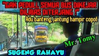 """GAK PEDULI, SEMUA BUS DILIBAS SAJA"" | Trip report bus SUGENG RAHAYU (W 7074 UZ) Solo-Surabaya"