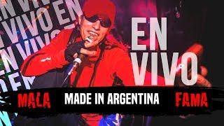 Hecho En Argentina (En vivo) - Mala Fama (Video)
