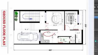 20x40 House Plan Duplex Free Online Videos Best Movies Tv Shows