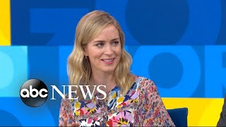 Emily Blunt 'blown away' by husband in director role - Video Youtube