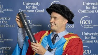 Dr Gordon Reid MBE receives honorary degree