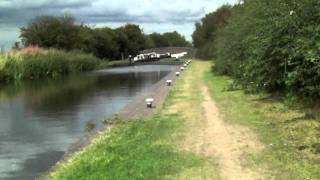 preview picture of video 'Birmingham & Fazeley Canal'