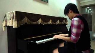 """Bruno Mars """"Just The Way You Are"""" ft. Adam Lambert """"Fever"""" Piano Mash-up by Claire Low"""