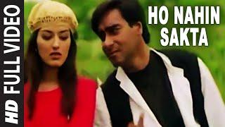 Ho Nahin Sakta Full Video Song | Diljale | Udit Narayan | Ajay