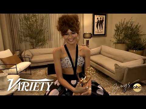 Zendaya On Making History As The Youngest Actor To Win An Emmy for Lead Actress