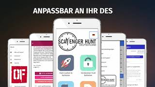 Scavenger Hunt DE App Vorstellung