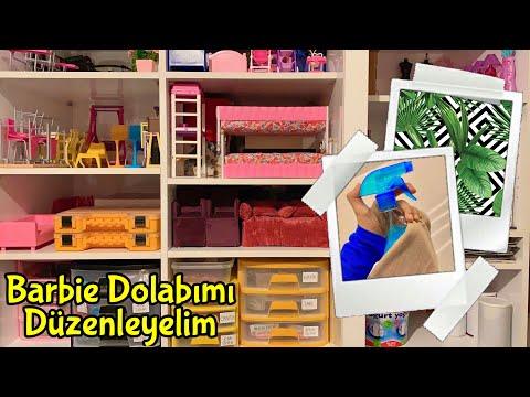 Barbie Dolabımı Düzenleyelim🌻 Barbie Ailesi