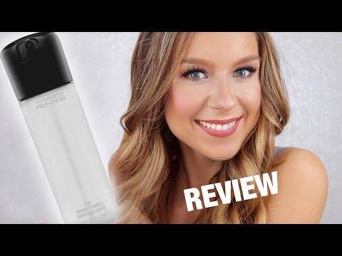 MAC Prep + Prime Fix+ Makeup Finishing Spray Review