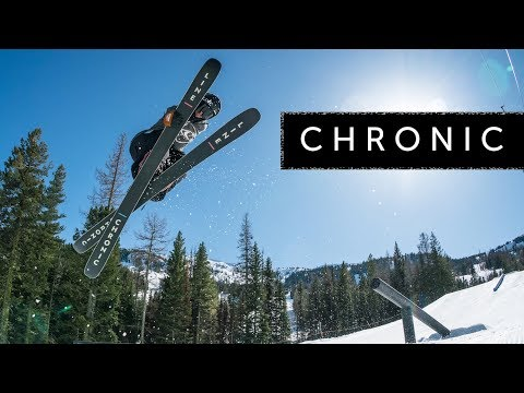 Video: The All-New 2018/2019 LINE Chronic Skis: All-Mountain Freestyle Redefined.